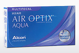 Lentile de contact Alcon AIR OPTIX AQUA MULTIFOCAL (AIR OPTIX AQUA MULTIFOCAL AOM6H)