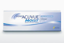 Lentile de contact Johnson & Johnson 1 DAY ACUVUE MOIST for ASTIGMATISM 1MA-30P-REV