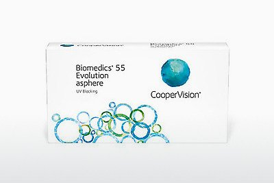 Lentile de contact Cooper Vision Biomedics 55 Evolution BMEU6