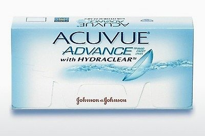 Lentile de contact Johnson & Johnson ACUVUE ADVANCE with HYDRACLEAR AVG-6P-REV