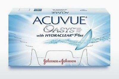 Lentile de contact Johnson & Johnson ACUVUE OASYS with HYDRACLEAR Plus PH-6P-REV