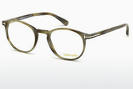 Ochelari de design Tom Ford FT5294 064 - Fildeş, Horn, Brown