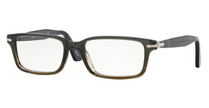 Persol PO2965VM 1012 DARK GREY GRADIENT GREEN BROW