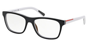 Prada Sport PS 01FV TIN1O1 TOP BLACK/WHITE/BROWN