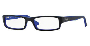 Ray-Ban RX5246 5224 TOP BLACK ON MATTE BLUE