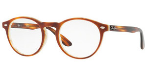 Ray-Ban RX5283 5677 TOP HAVANA BROWN HORN BEIGE