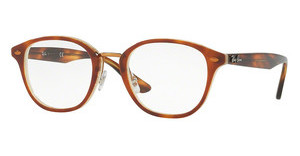 Ray-Ban RX5355 5677 TOP HAVANA BROWN/HORN BEIGE