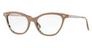 Ray-Ban RX5360 5717 TOP BEIGE ON HAVANA GREEN