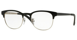 Ray-Ban RX6317 2832 TOP BLACK ON MATTE SILVER