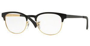 Ray-Ban RX6317 2833 TOP BLACK ON MATTE GOLD
