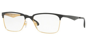Ray-Ban RX6344 2890 GOLD/TOP SHINY BLACK