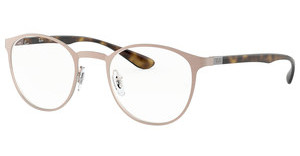 Ray-Ban RX6355 2732 BRUSHED LIGHT BROWN