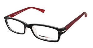 Vienna Design UN557 01 matt black/x'tal-matt red