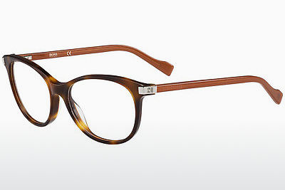 Ochelari de design Boss Orange BO 0184 KBG - Maro, Havana