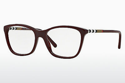 Ochelari de design Burberry BE2141 3403 - Roşu, Bordeaux
