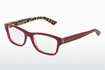 Ochelari de design Dolce & Gabbana Enchanted Beauties (DG3208 2882) - Roşu, Bordeaux