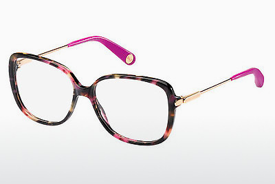 Ochelari de design Marc Jacobs MJ 494 CDC - Havana, Auriu, Roz, Transparent