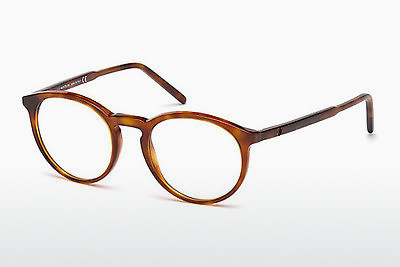 Ochelari de design Mont Blanc MB0554 053 - Havana, Yellow, Blond, Brown