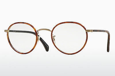 Ochelari de design Paul Smith KENNINGTON (PM4073J 5236) - Portocaliu, Maro, Havana, Auriu