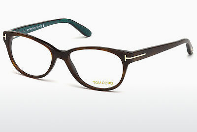 Ochelari de design Tom Ford FT5292 052 - Maro, Dark, Havana