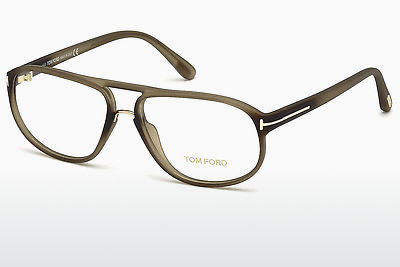 Ochelari de design Tom Ford FT5296 046 - Maro, Bright, Matt