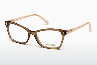 Ochelari de design Tom Ford FT5357 048 - Maro, Dark, Shiny