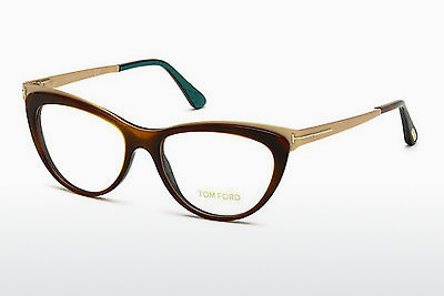 Ochelari de design Tom Ford FT5373 052 - Maro, Dark, Havana