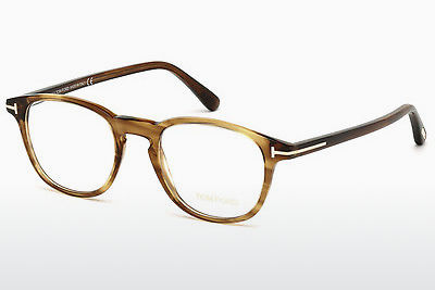 Ochelari de design Tom Ford FT5389 048 - Maro, Dark, Shiny