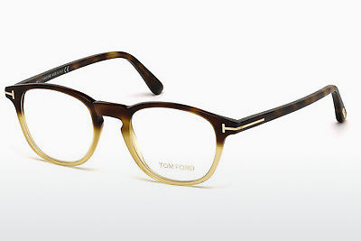 Ochelari de design Tom Ford FT5389 053 - Havana, Yellow, Blond, Brown