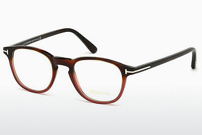 Ochelari de design Tom Ford FT5389 054 - Havana, Red