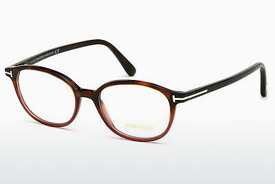 Ochelari de design Tom Ford FT5391 054 - Havana, Red