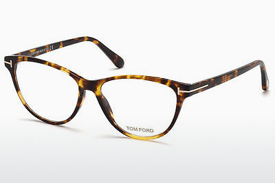 Ochelari de design Tom Ford FT5402 053 - Havana, Yellow, Blond, Brown