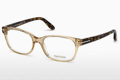 Ochelari de design Tom Ford FT5406 045 - Maro, Bright, Shiny