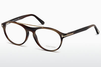 Ochelari de design Tom Ford FT5411 062 - Maro, Horn, Ivory