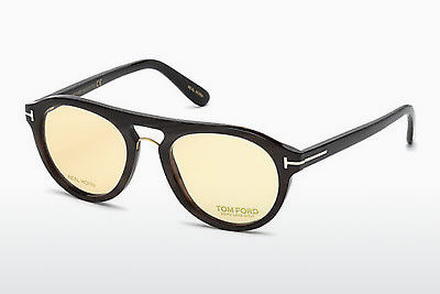 Ochelari de design Tom Ford FT5438-P 64E - Fildeş, Horn, Brown