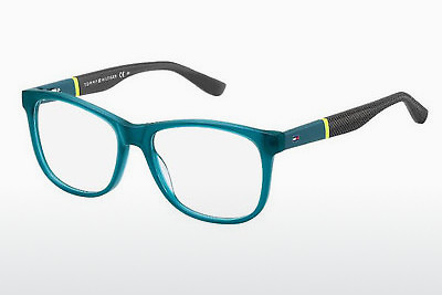 Ochelari de design Tommy Hilfiger TH 1406 T94 - Verde, Teal