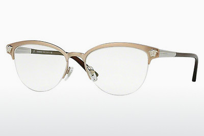 Ochelari de design Versace VE1235 1375 - Maro, Copper