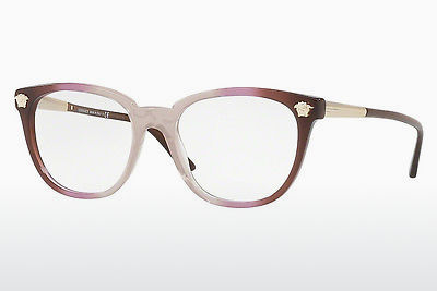 Ochelari de design Versace VE3242 5229 - Purpuriu, Transparent, Maro
