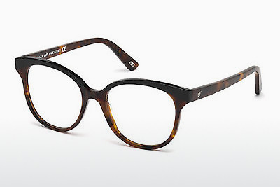Ochelari de design Web Eyewear WE5196 052 - Maro, Dark, Havana