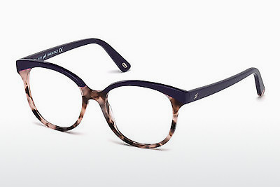 Ochelari de design Web Eyewear WE5196 056 - Maro, Havana