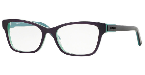 DKNY DY4650 3638 TOP VIOLET ON AQUA GREEN
