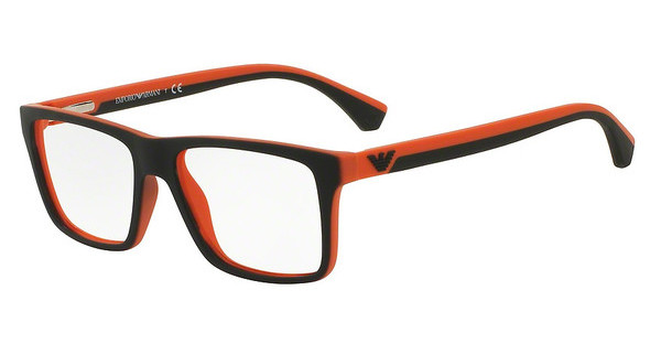 Emporio Armani   EA3034 5529 BLACK/ORANGE RUBBER