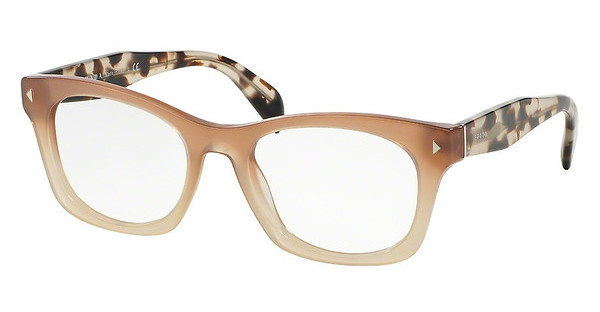 Prada PR 11SV UBI1O1 BROWN GRADIENT