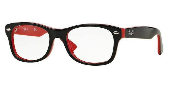 Ray-Ban Junior RY1528 3573 TOP BLACK ON RED
