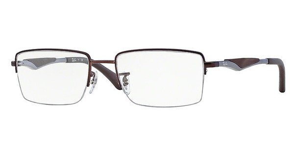 Ray-Ban RX6285 2758 DARK MATTE BROWN