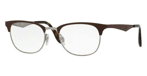 Ray-Ban   RX6346 2912 GUNMETAL/MATTE BROWN