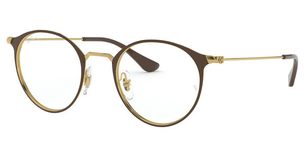 Ray-Ban   RX6378 2905 GOLD/SHINY BROWN