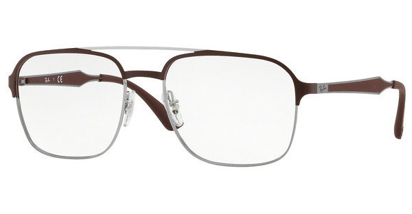 Ray-Ban   RX6404 2912 GUNMETAL/MATTE BROWN
