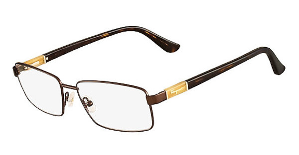 Salvatore Ferragamo SF2116 208 SHINY DARK BROWN