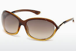 Ochelari oftalmologici Tom Ford Jennifer (FT0008 50F) - Maro, Dark
